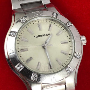 Vintage Tourneau Designed for Honda Silver Watch